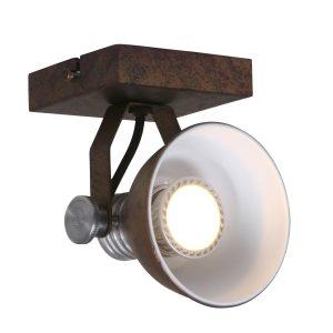 Wandlamp Steinhauer Brooklyn - Bruin-1533B
