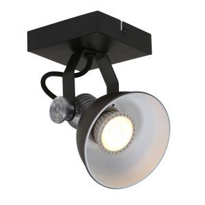 Wandlamp Steinhauer Brooklyn - Zwart-1533ZW