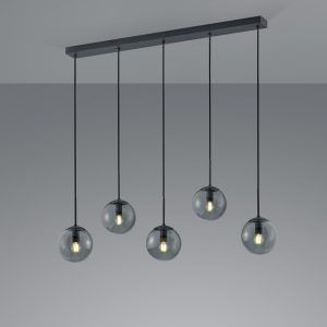 Hanglamp Trio Leuchten Balini - Antraciet-308500542