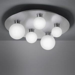 Plafonniere Trio Leuchten Dicapo - Nikkel-650810507