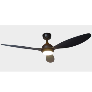 Plafondventilator Globo Romina - Zwart-03640S