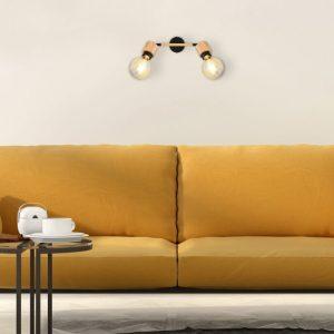 Plafondlamp Globo Jorna - Zwart-54031-2