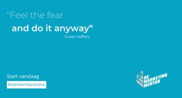 #sterkernacorona Feel the fear...