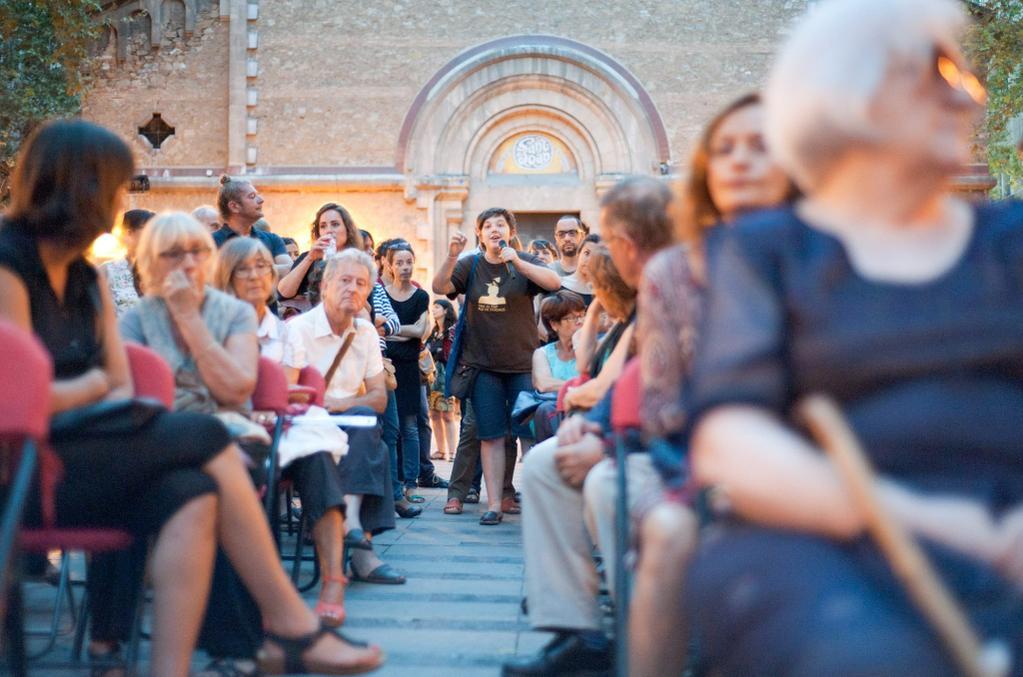 Kommunalt möte i Barcelona. Foto: Kate Shea Baird.
