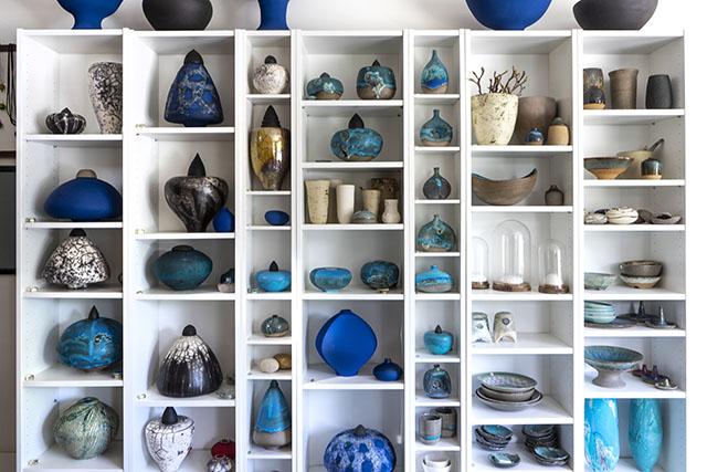 Handgemaakte Keramische Urnen vervaardigd uit aardewerk