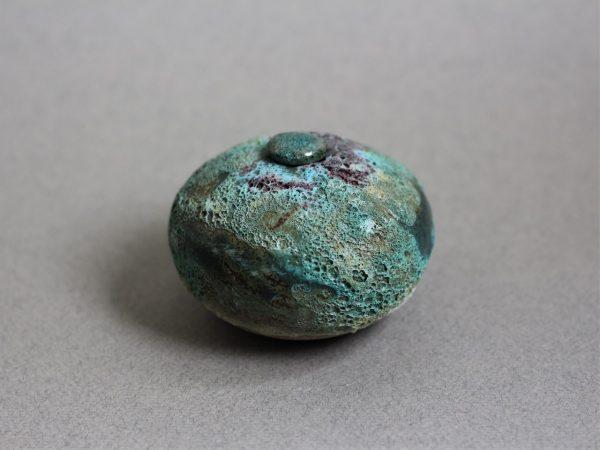 Handgemaakte Zee Urn Keramiek Aardewerk 6 kr gr 2 (2)