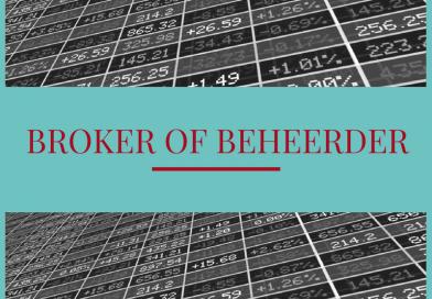 Broker of beheerder: Lage kosten of persoonlijk advies