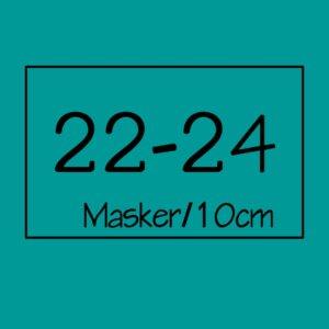 22-24 masker