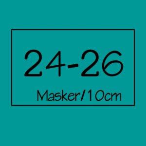 24-26 masker