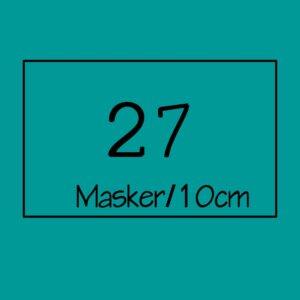 27 masker