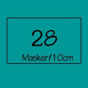 28 masker