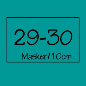29-30 masker