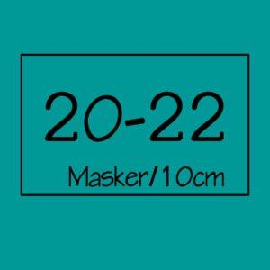 20-22 masker