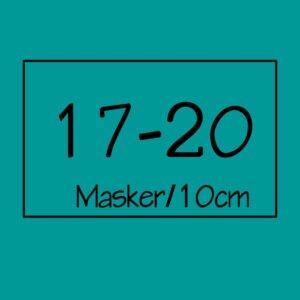 17-20 masker