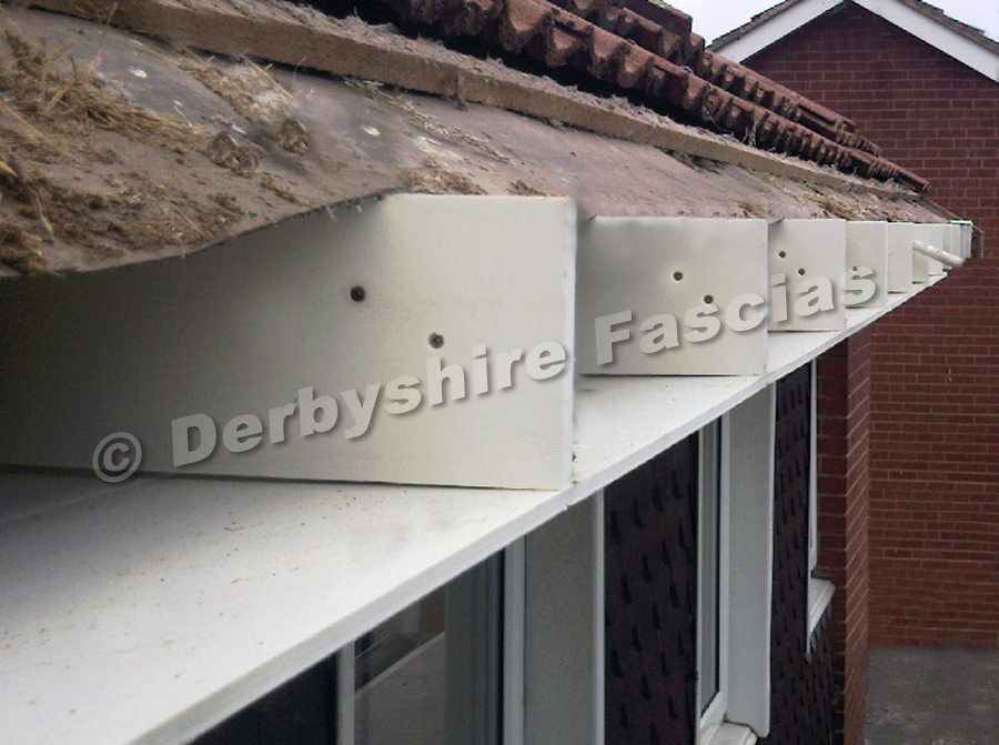 Derbyshire Fascias preparation