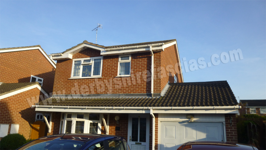 Cowboys have over-clad all the fascias and soffits