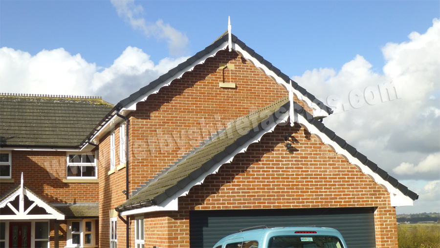 derbyshire fascias decorative bargeboards