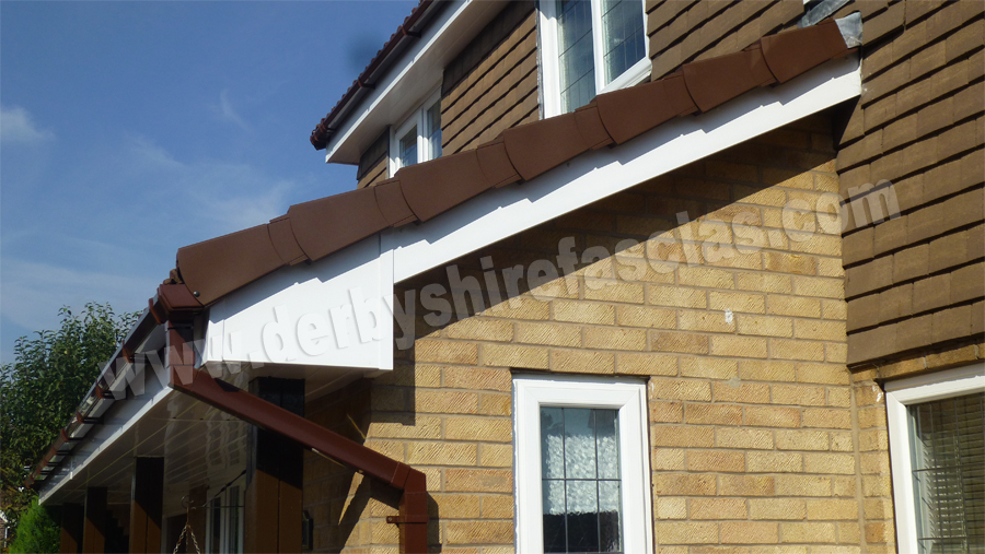 Brown Dry Verge by Derbyshire Fascias
