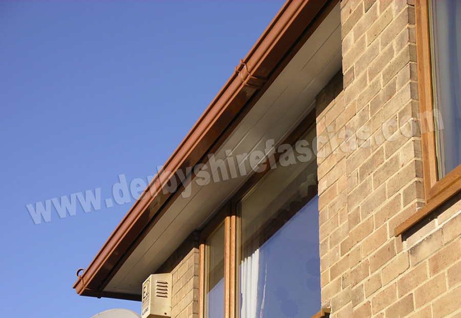 derbyshire fascias woodgrain roofline