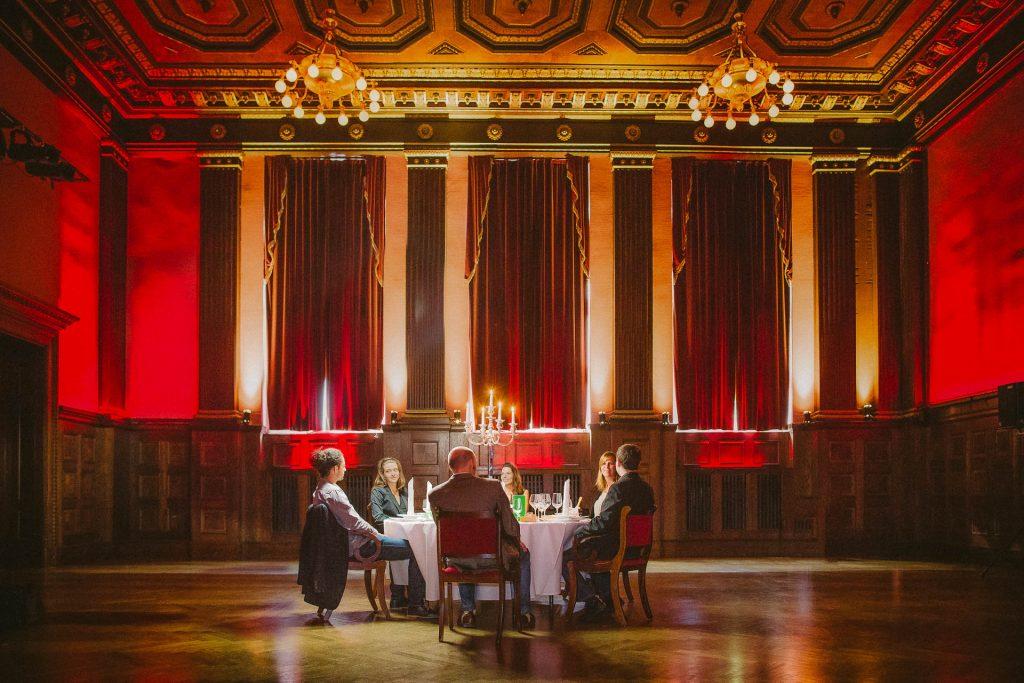 Exclusive dinner at Meistersaal
