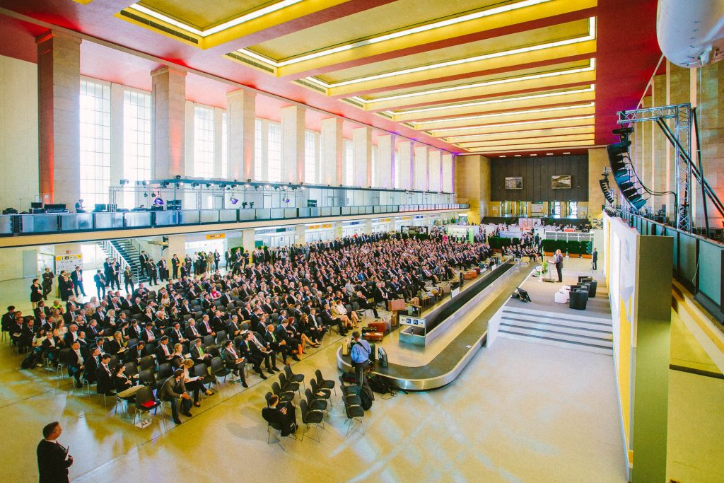event photographer captures conference at tempelhof airport