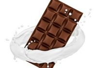 Was ist Hundeschokolade. Tafel Schokolade im Milchring