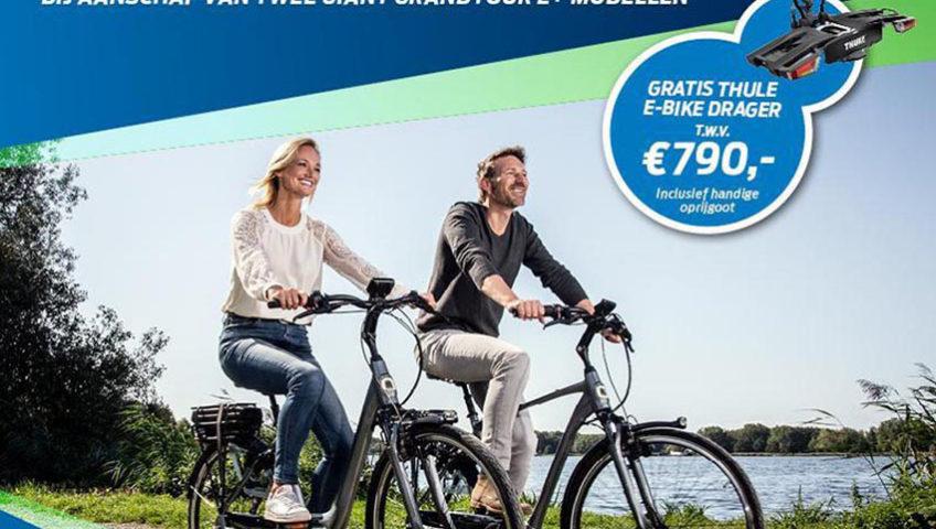 Thule fietsdrager - Giant E Bikes