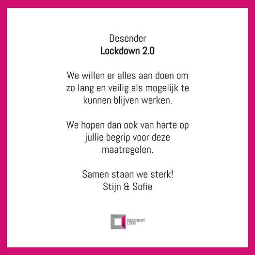 Desender lockdown 2