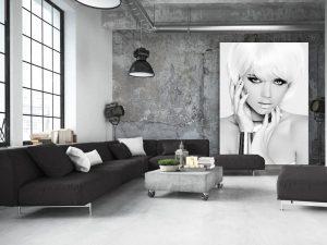 blonde model loft
