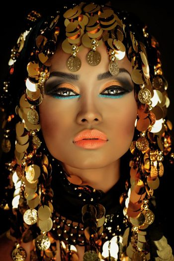 Portrait of an Arabian Princess