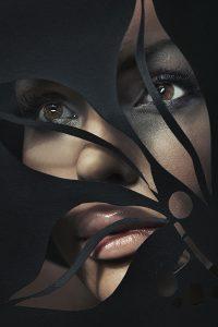 Shaped portrait