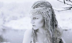 snow queen op plexiglas