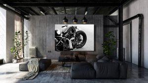 Harley-Davidson softail evo op plexiglas