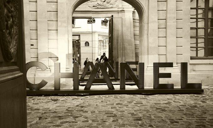 Chanel winkel in Parijs