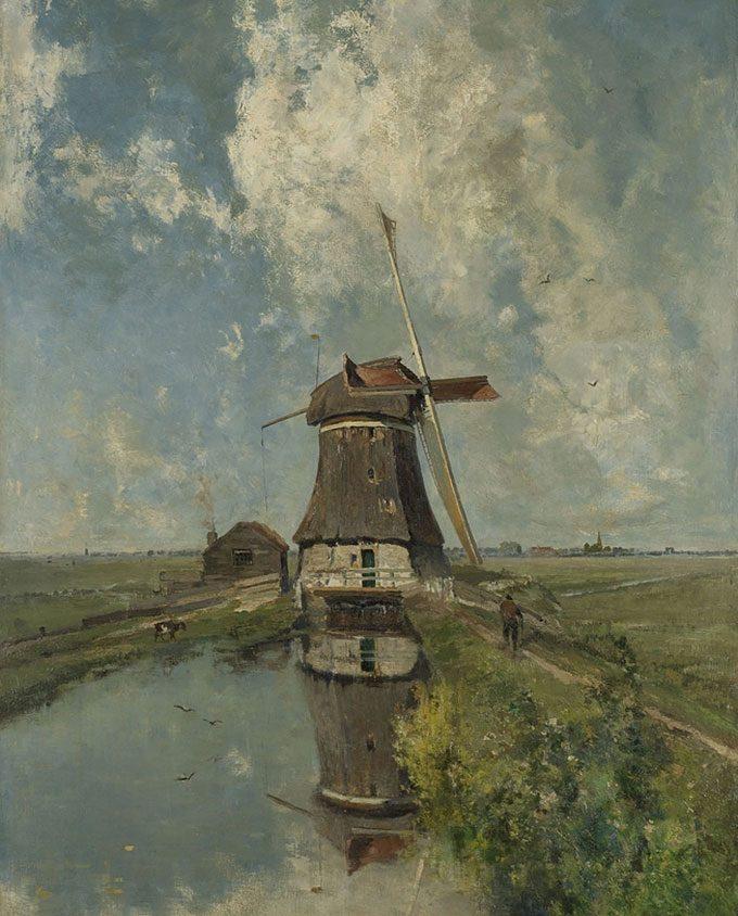 painting by Paul Joseph Constantin Gabriël, 1889