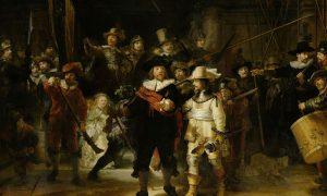 Night Watch by Rembrandt