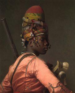 Bashi-Bazouk van de Franse schilder Jean-Leon Gerome