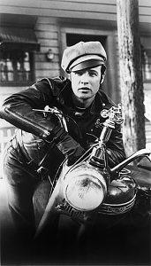 Biker movie the wild one met Brando