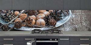 personaliseer je keuken achtergrond op glas