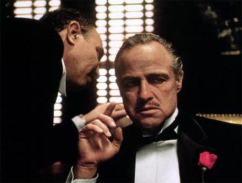 Plexiglas schilderij - Marlon Brando The Godfather