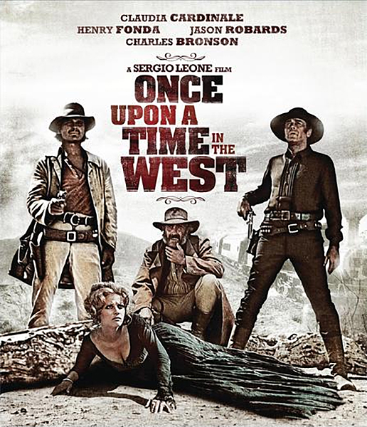 Plexiglas schilderij - movieposter Once upon a time in the west 1968