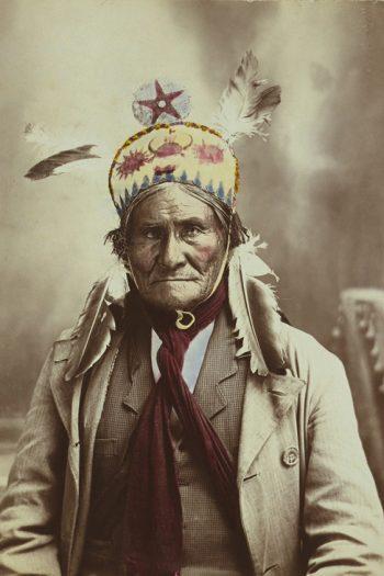 Chiricahua Apache warrior,