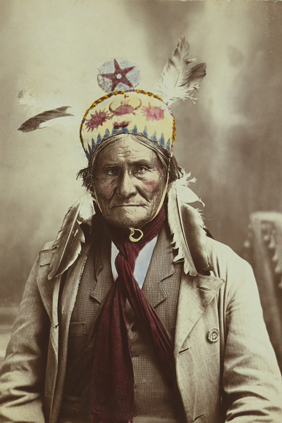 Chiricahua Apache warrior,