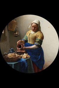 Milkmaid J Vermeer