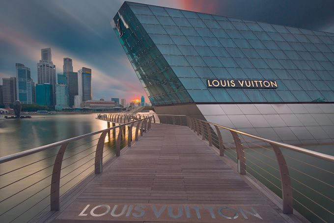 view of Louis Vuitton store