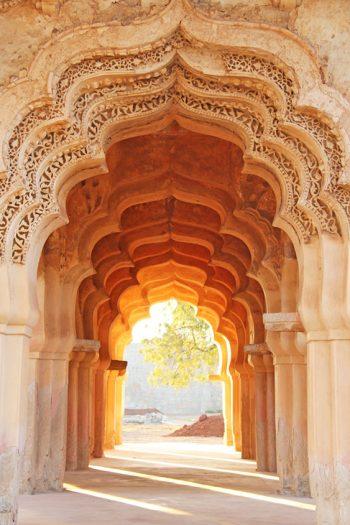 Lotus Mahal Tempel