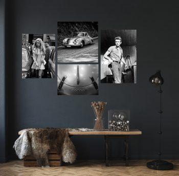 Jamers Dean, Brigitte Bardot, Porsche