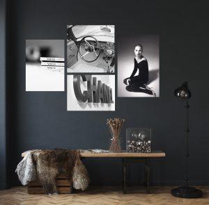 Kate Moss, Chanel, Vogue, classic car