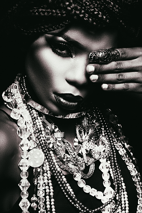African American with jewels