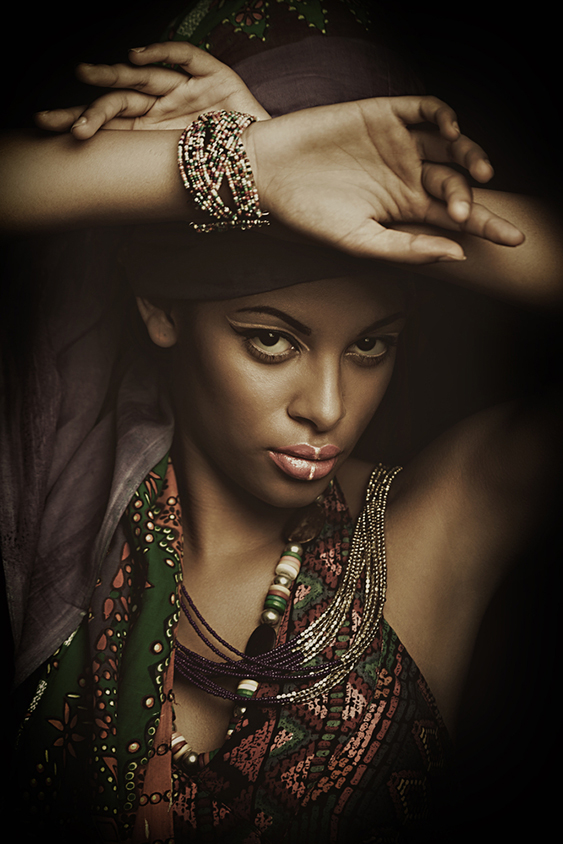 African young woman